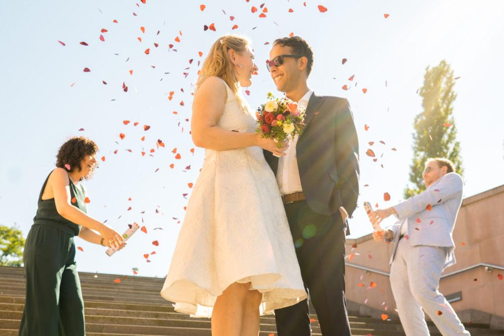 Hochzeitsfotos von Kerstin & Karim in Frankfurt am Main.