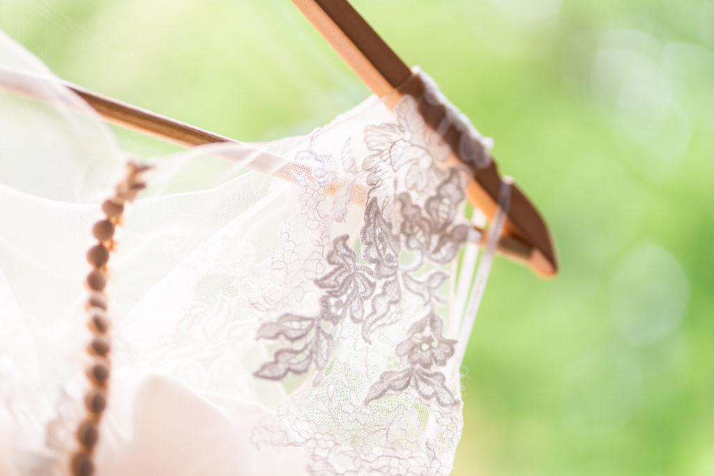 Hochzeitskleid Detail