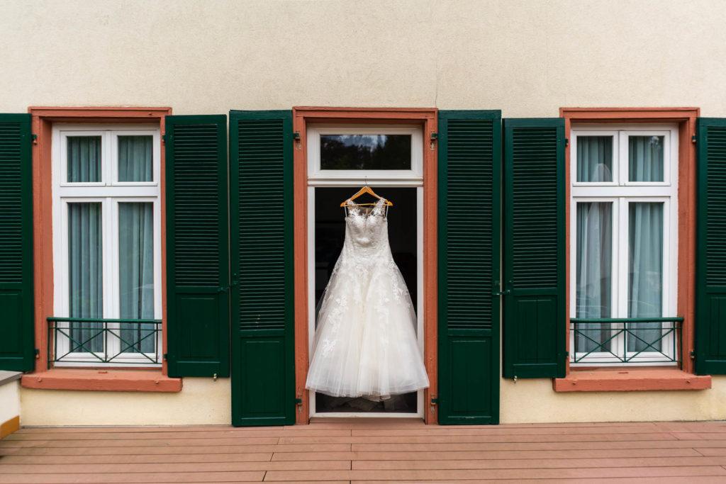 Hochzeitskleid Parkhotel Tillmanns